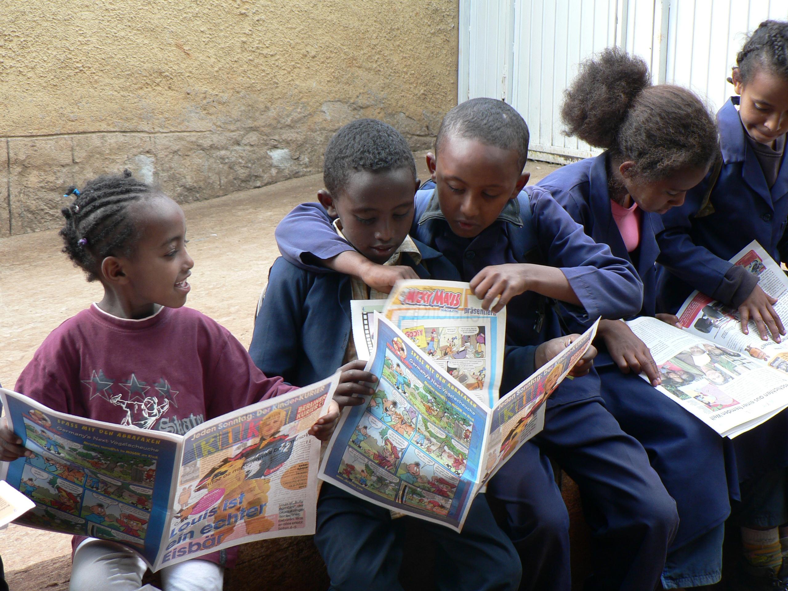 Tagesheim für Waisen- und Strassenkinder in Addis Ababa