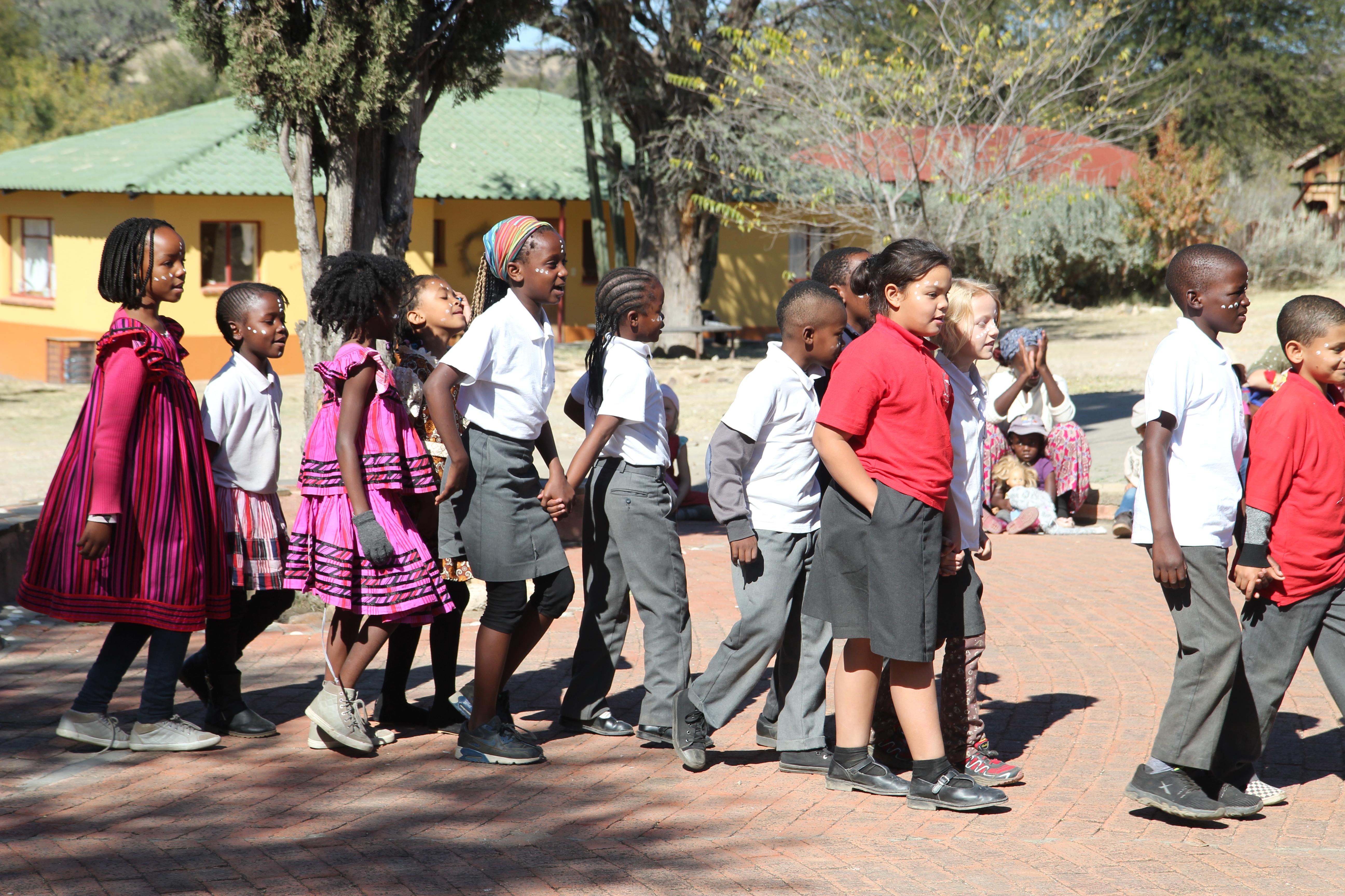 Förderung einer Schule in Namibia