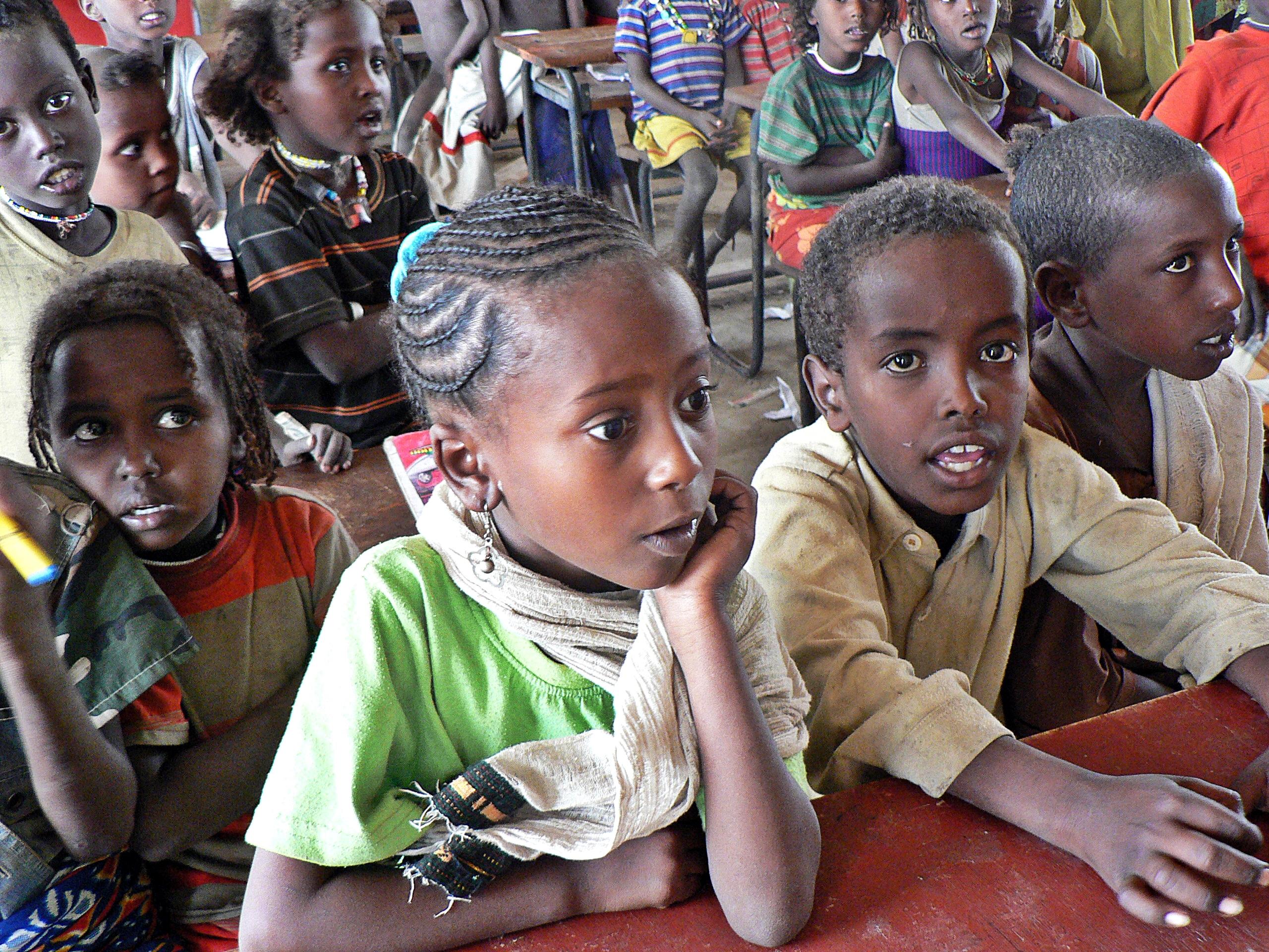 Unterstützung von Schulen der Afar-Nomaden in Awash Nationalpark, Äthiopien