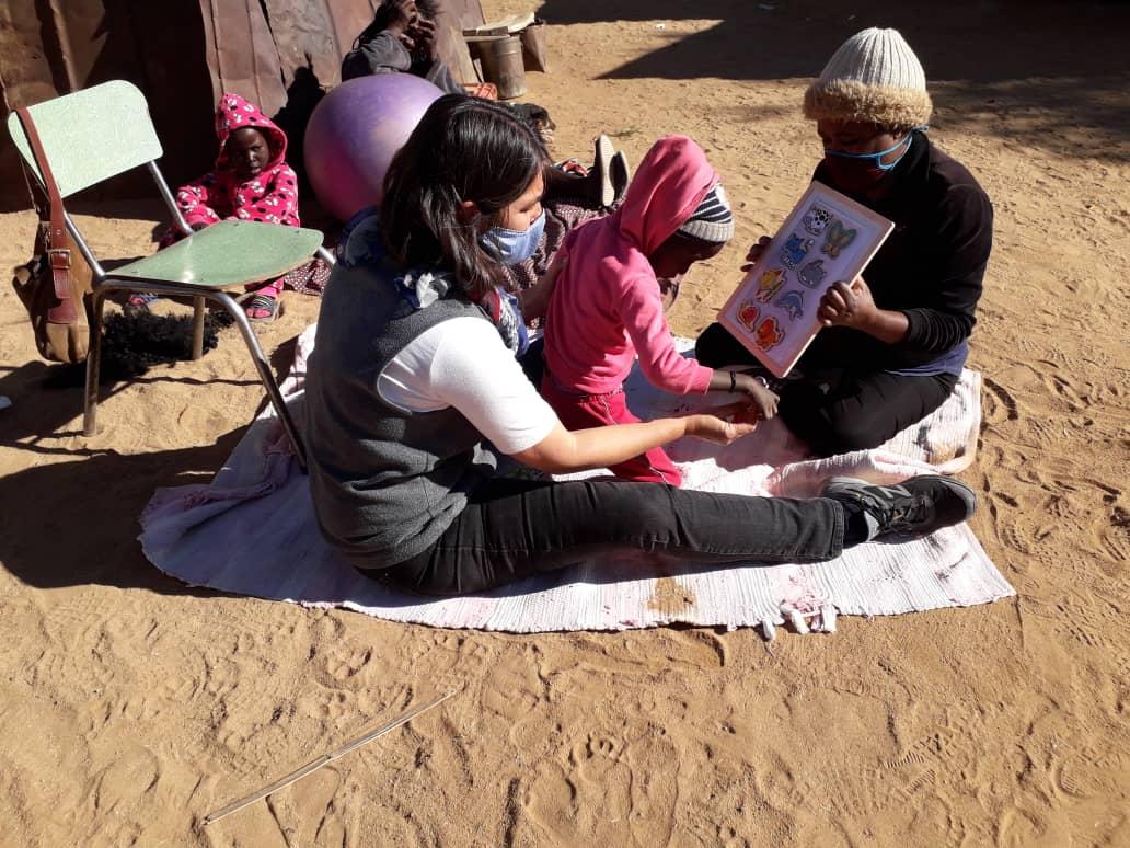 Aufbau eines integrativen Kindergartens in einem Armenviertel in Namibia